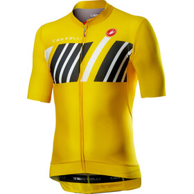Castelli Hors Categorie Jersey Korte Mouwen Heren, yellow